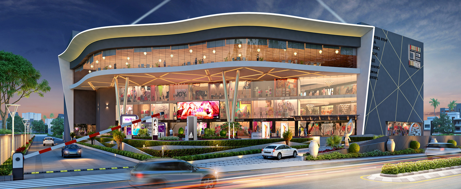 Mall & Multiplex (BE Mall at Bardoli)